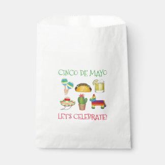 Let's Celebrate Cinco de Mayo Fiesta Taco Piñata Favour Bag