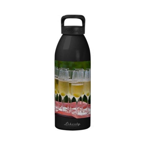Let's celebrate water bottle
