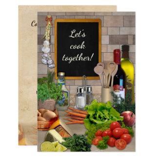 Let's Cook Together! Card