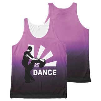 lets dance and have fun All-Over-Print tank top