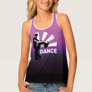 Lets dance and have fun tank top