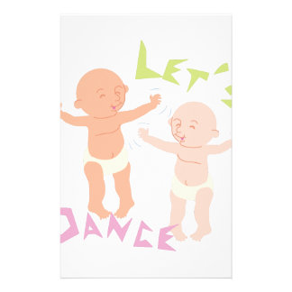 Let's Dance Customized Stationery