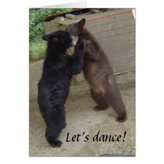 Let's Dance! Note Card