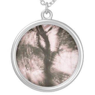Let's Dance (Pink) Silver Plated Necklace