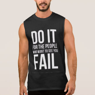 Let's Do it Gym motivation tanks