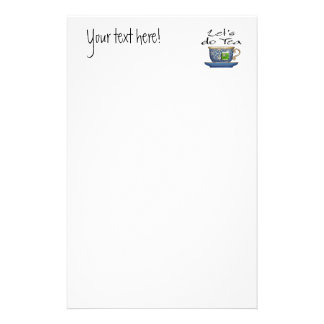 Let's do Tea - 003 Stationery