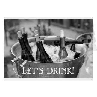 Let's Drink Card