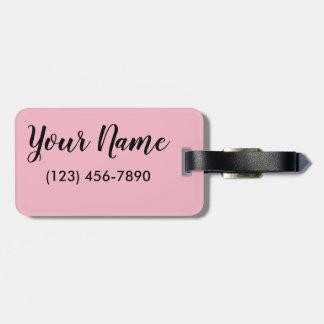 Let's Flamingle Luggage Tag