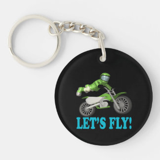 Lets Fly 2 Keychain