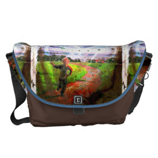 Let's Fly a Kite Messenger Bag