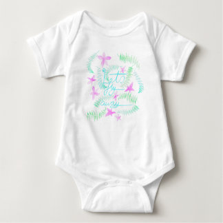 Lets fly away baby bodysuit