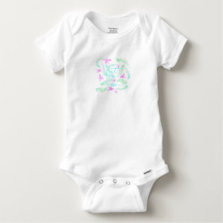Lets fly away baby onesie