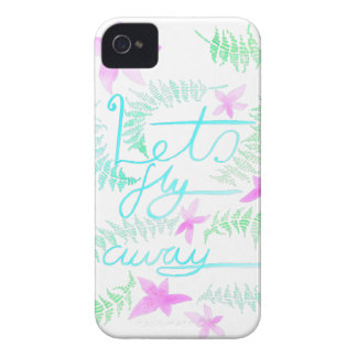 Lets fly away Case-Mate iPhone 4 case