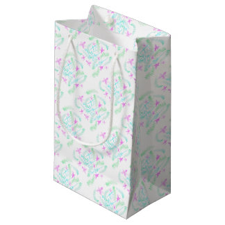 Lets fly away small gift bag