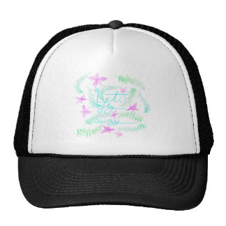 Lets fly away trucker hat