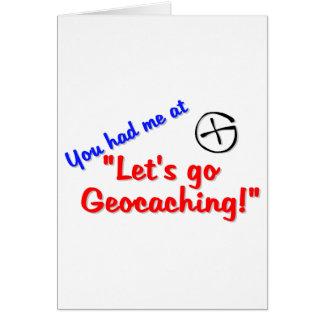 Let's Geocache Card
