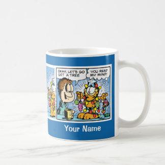 """Let's Get a Tree"" Garfield Comic Strip Mug"