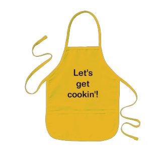 """""""Let's get cookin'!"""" Apron"""