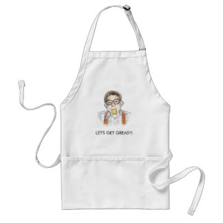 """""""LET'S GET GREASY!"""" Aprons"""