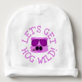Let's Get Hog Wild Baby Beanie