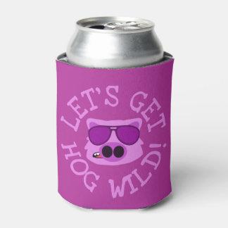 Let's Get Hog Wild Can Cooler