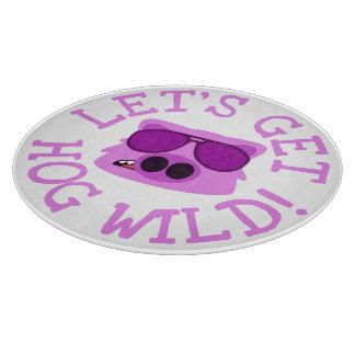 Let's Get Hog Wild Cutting Board