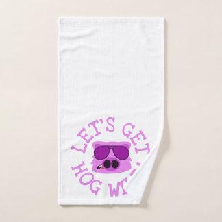 Let's Get Hog Wild Hand Towel