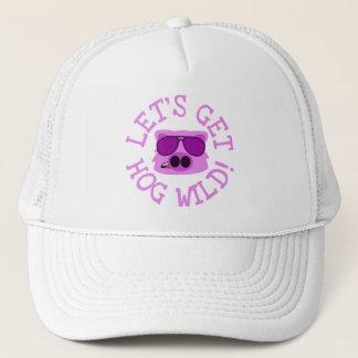 Let's Get Hog Wild Trucker Hat