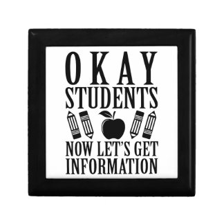 Let's Get Information Gift Box