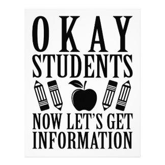 Let's Get Information Letterhead