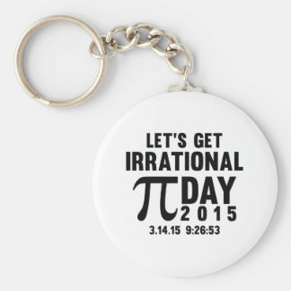 Let's Get Irrational Keychain