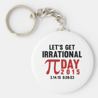 Let's Get Irrational Key Chains