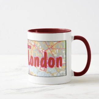 Let's Get Lost in London Mug