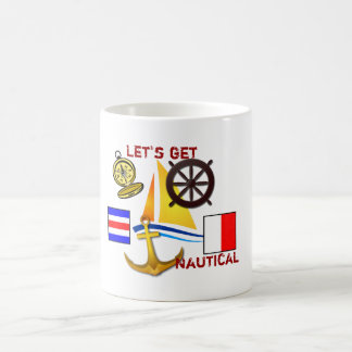 Let's get Nautical - coffee cup