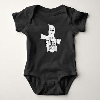 Let's Get Sheet Faced Baby Bodysuit
