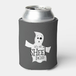 Let's Get Sheet Faced Can Cooler