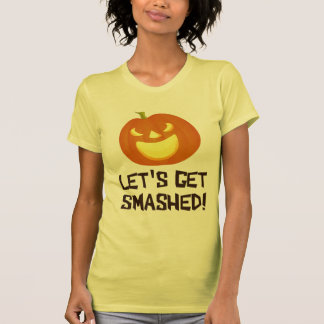 Let's Get Smashed Halloween Party Tees