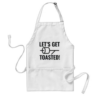 Let's Get Toasted Standard Apron