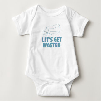 Let's Get Wasted Baby Bodysuit