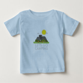 Lets go Camping Baby T-Shirt