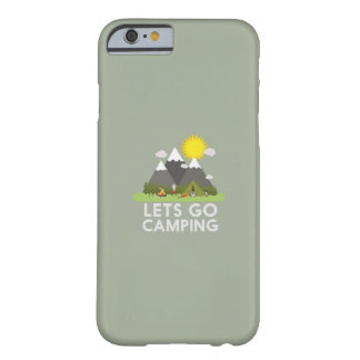 Lets go Camping Barely There iPhone 6 Case
