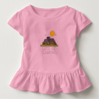Lets go Camping Toddler T-shirt