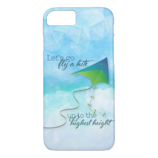 Let's Go Fly a Kite iPhone 8/7 Case