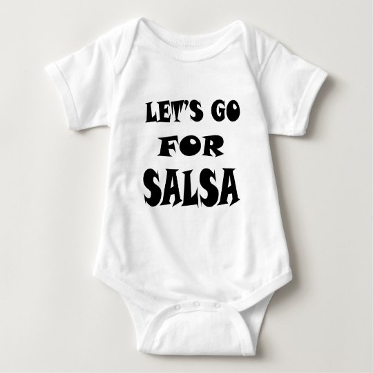 Let's Go For SALSA Baby Bodysuit