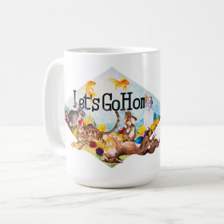 Let's Go Home OAS Mural Mug by Renee Castro