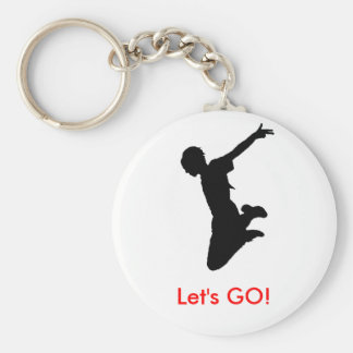Let's GO! key chain