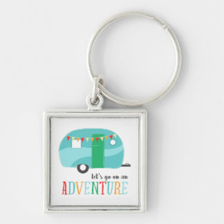 Lets Go on an Adventure Camper RV Key Chain