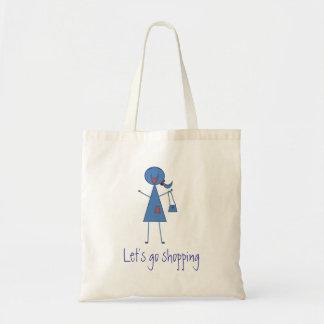 Let's Go Shopping Bag