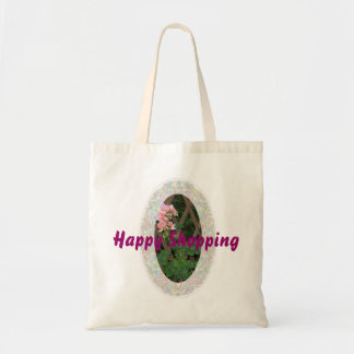 Lets go shopping budget tote bag
