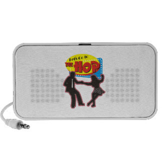 LETS GO TO THE HOP PORTABLE SPEAKER
